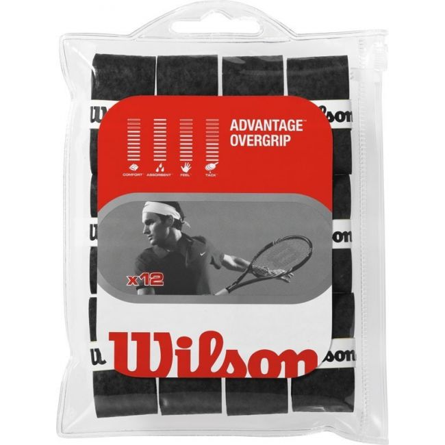 Намотка Wilson Advantage Black OverGripфото 1