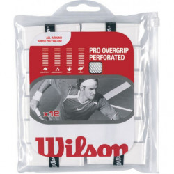 Намотка Wilson Pro Overgrip Perforated (white)